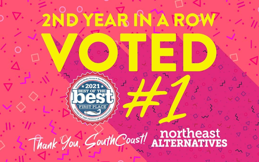 NORTHEAST ALTERNATIVES VOTED 2021 BEST CANNABIS DISPENSARY OF THE SOUTH COAST!